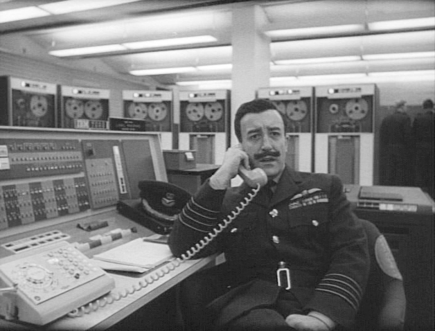 Peter Sellers in one of his three Dr. Strangelove roles