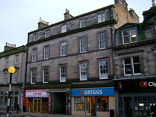 Building on site where Adam Smith wrote Wealth of Nations