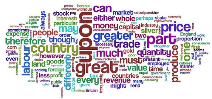 Purpleslog's Wordle of Wealth of Nations
